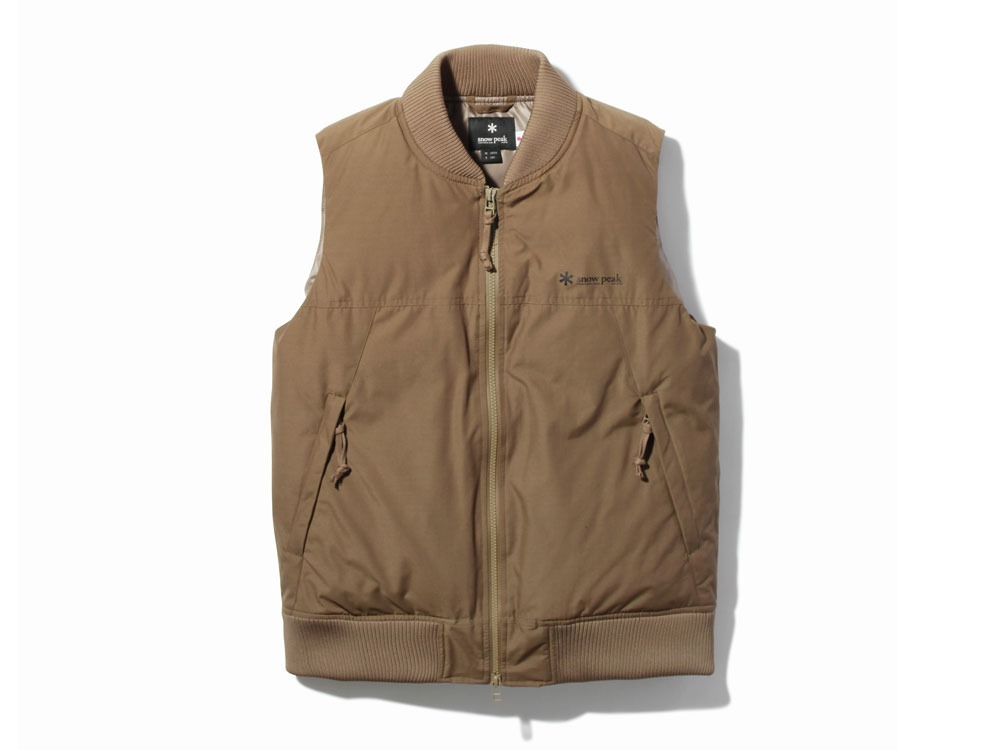 FR Down Vest L Brown0