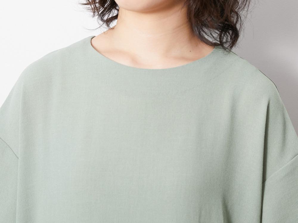 Quick Dry Crepe Weave Soft Dress 4 BK