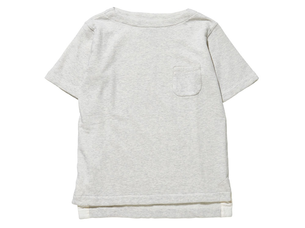 Cashmere Sweat Tshirt 1 Oatmeal
