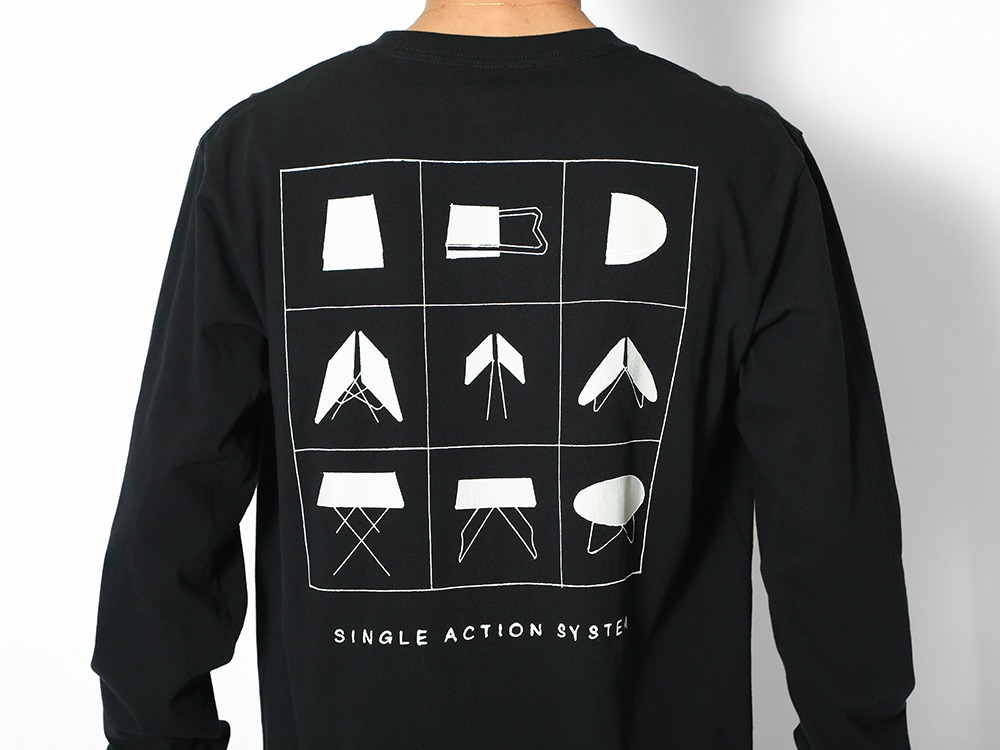 Printed L/S T Single Action System S WH