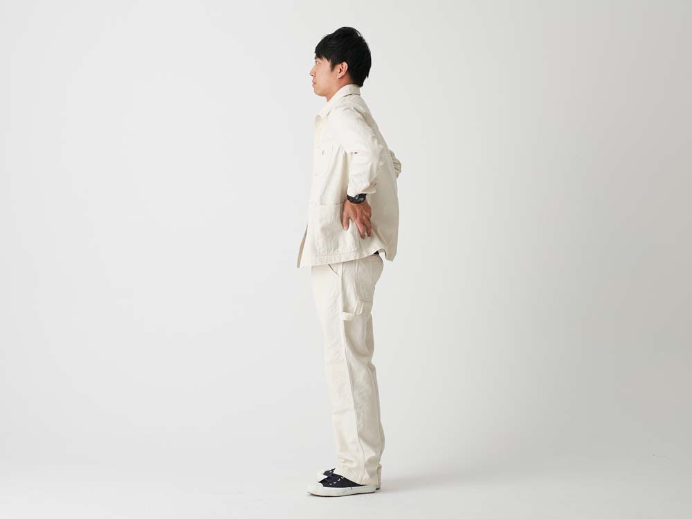 Okayama OX Work Jacket L Ecru2