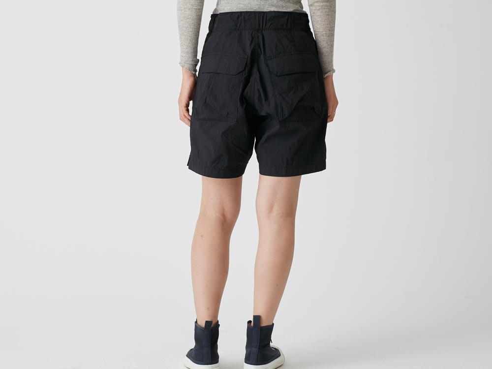 Indigo C/N  Anorak Shorts 2 Black4