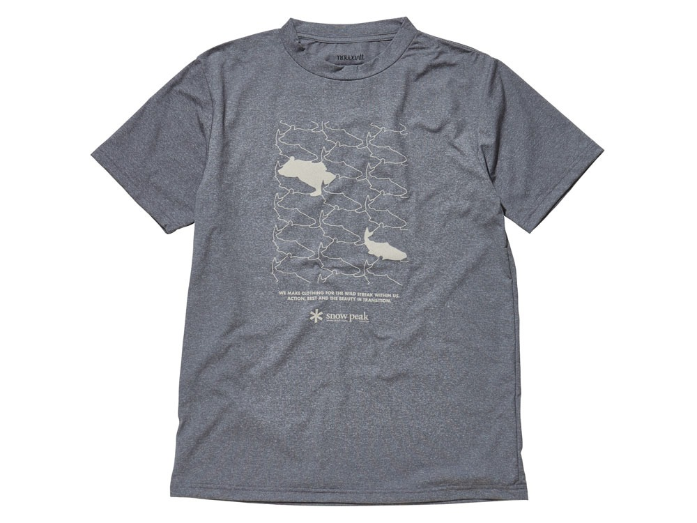 Natural Trompe I'oeil Tshirt L Grey0