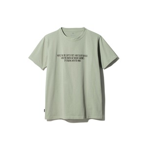 Typographical Tee #6 XL Sage