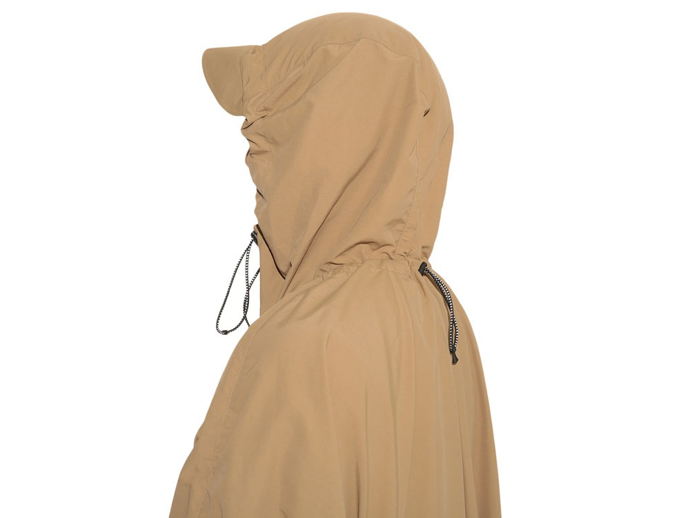 Camping Over Poncho M Beige7