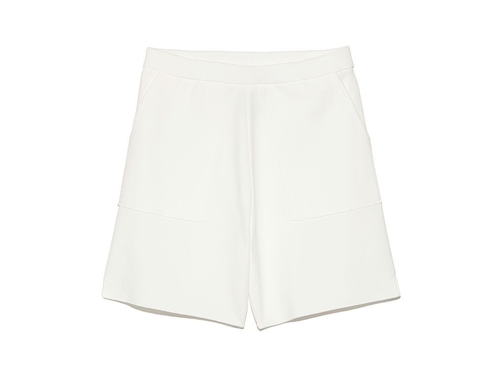 Cotton Dry Shorts M White0
