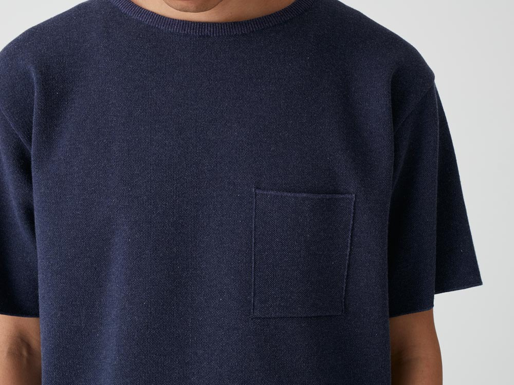 Cotton Dry Pullover L Navy5