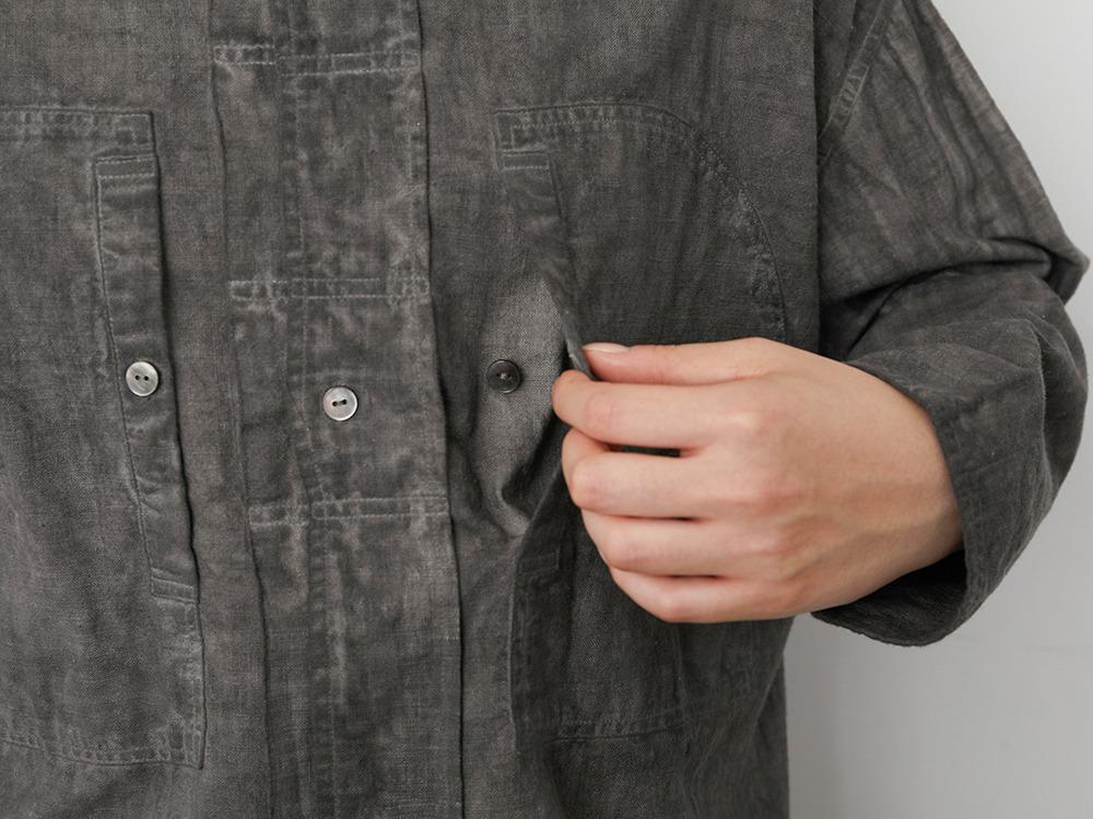 Hand-woven Cotton Shirt 1 SUMI