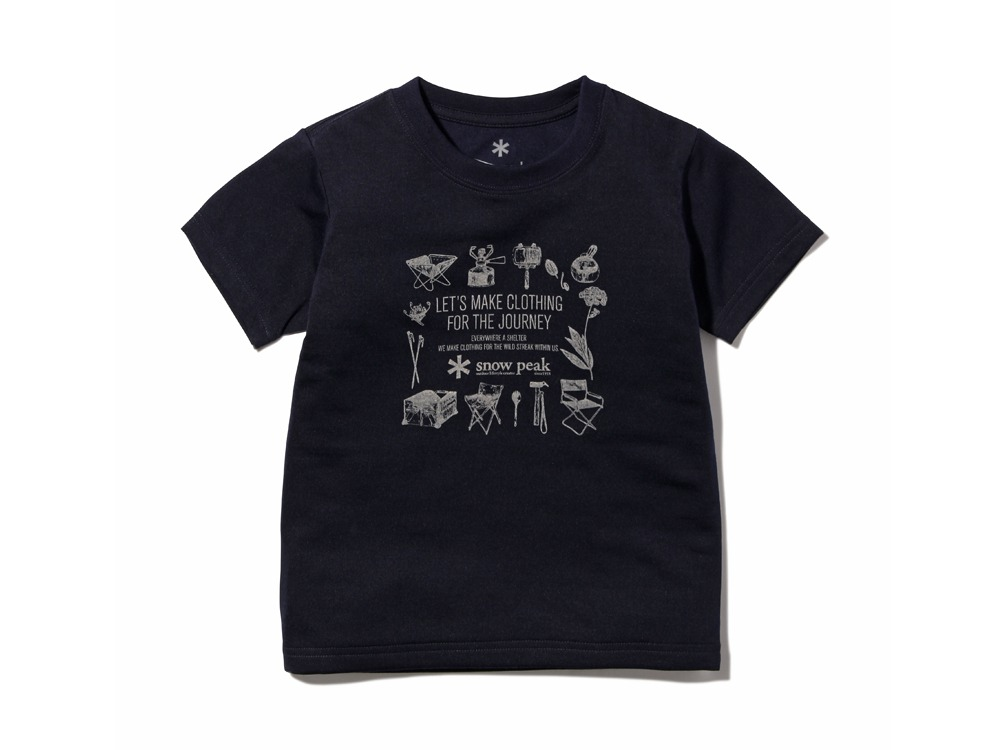 Kid's SP Gear Tshirt 2 Navy0