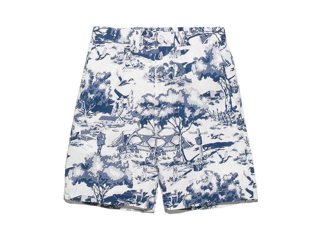Camp Aloha Shorts 2 White0