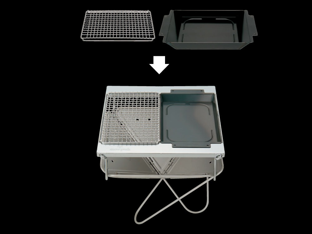 Grill Stainless Half Pro.3