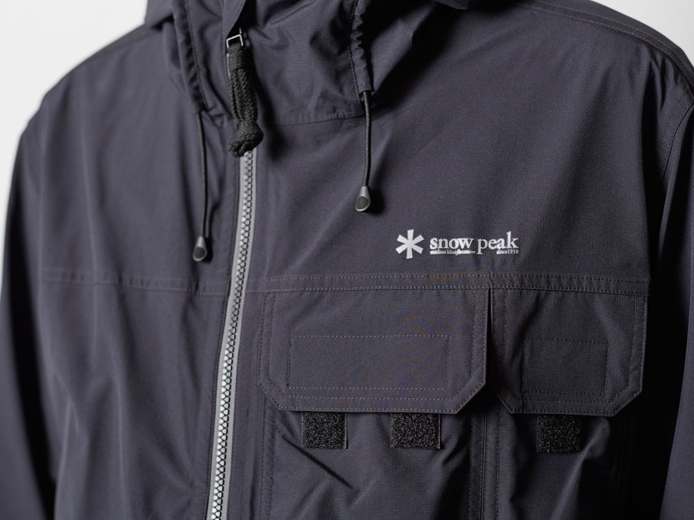 Wind&Water Resistant Anorak L Black9