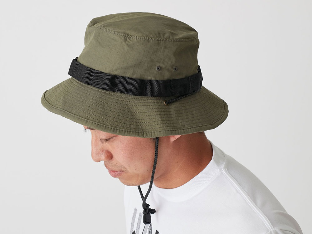 Packable Hat 1 Olive1