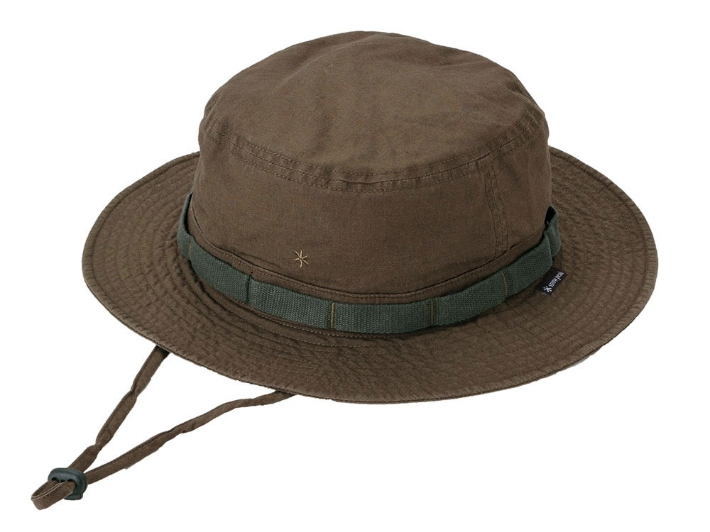 Cotton Safari Hat Brown0