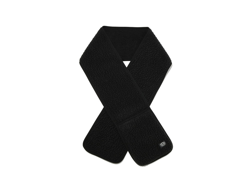 Classic Fleece Stole One Black