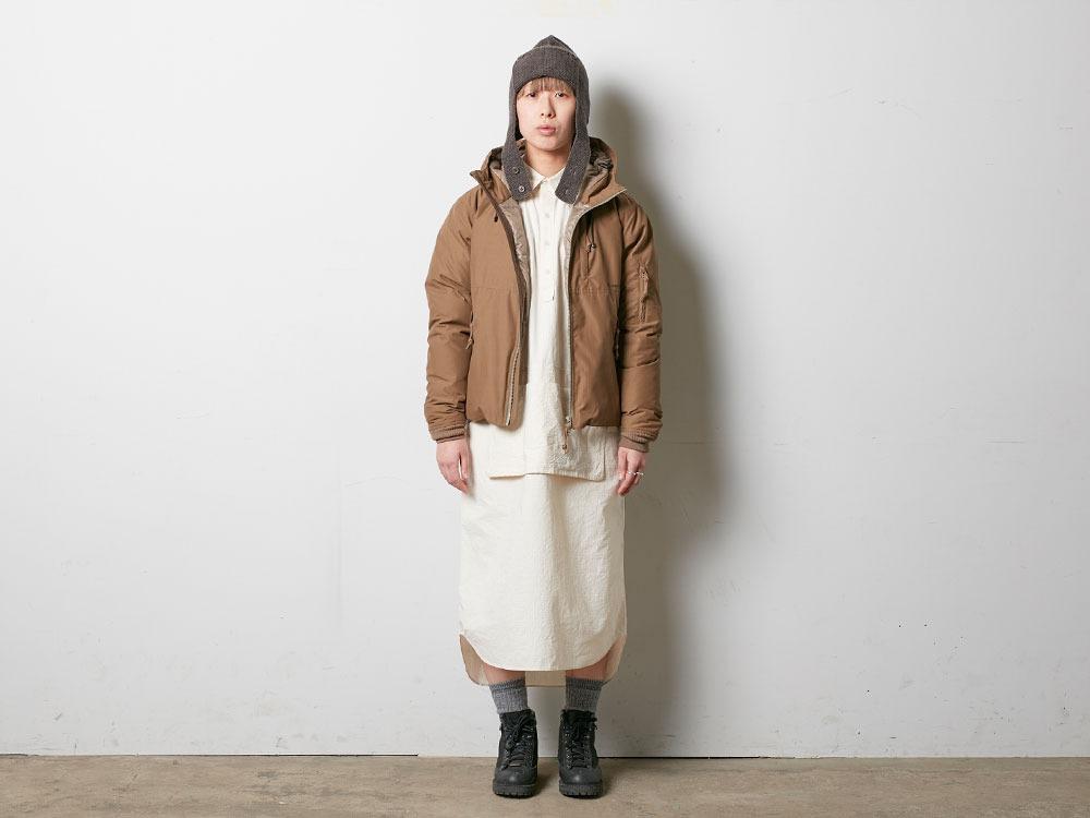 FR Down Jacket S Olive1