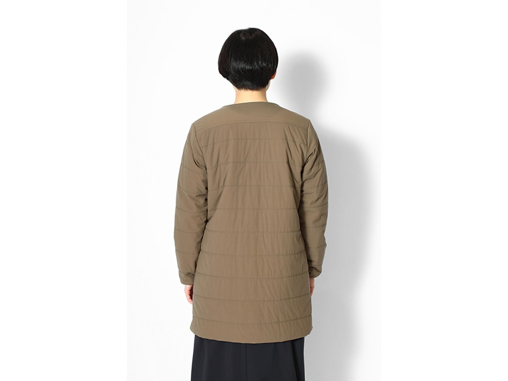 Flexible Insulated Long Cardigan 1 Grey
