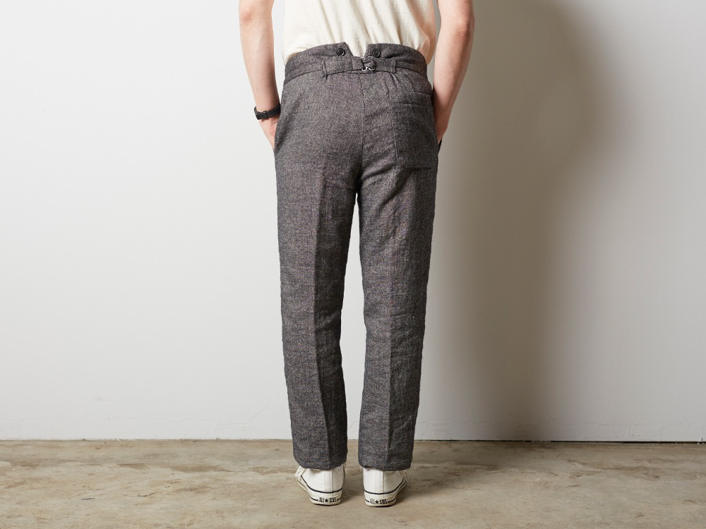 W/L Double Face Pants S Beige3