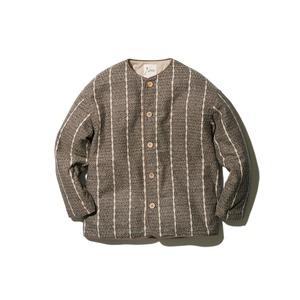 Wild Silk Striped Insulated Jacket