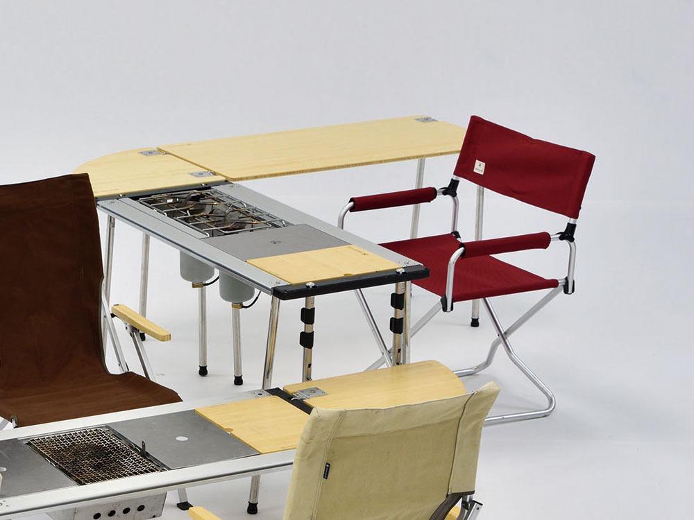 ウッドテーブル S竹