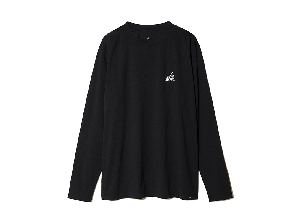 MM Mountain Logo L/S Tee L Black