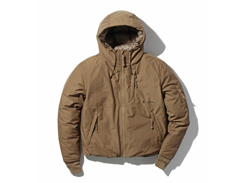 FR Down Jacket M Brown0
