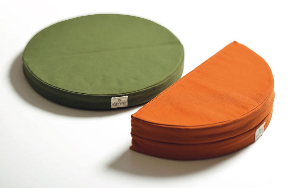 ラウンジクッション オレンジ(TM-096OR) | テーブル・チェアの通販(アウトドア・キャンプ用品)はスノーピーク(Snow Peak)
