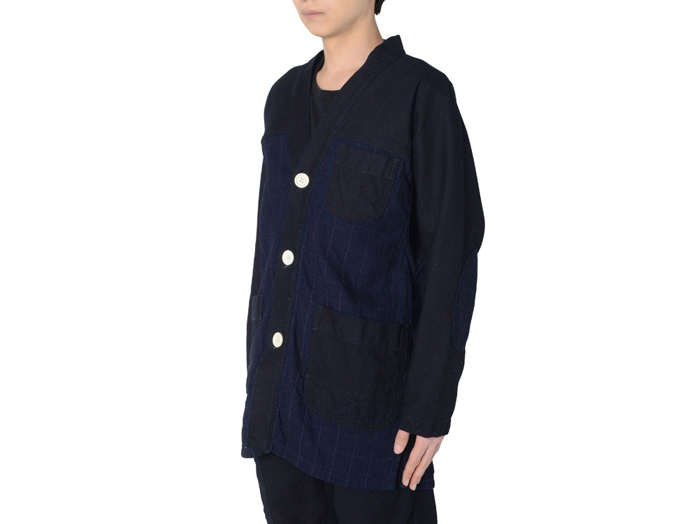Noragi Jacket L Indigo1