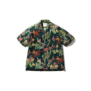 Printed Quick Dry Shirt S Green