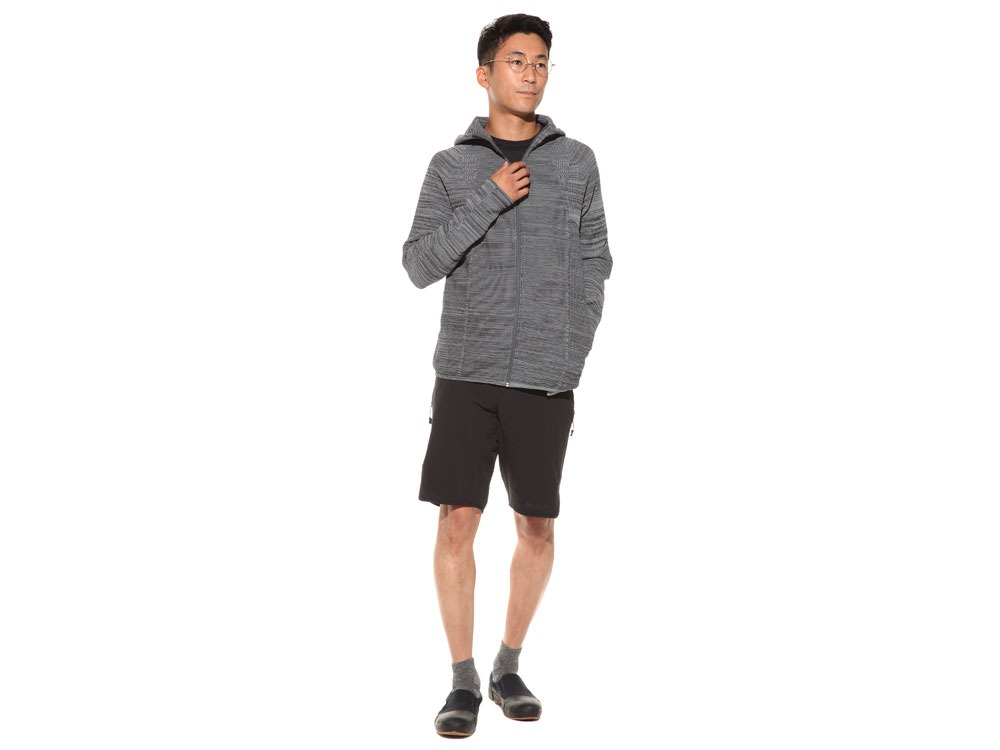 WG Stretch Knit Jacket S Grey.Black1