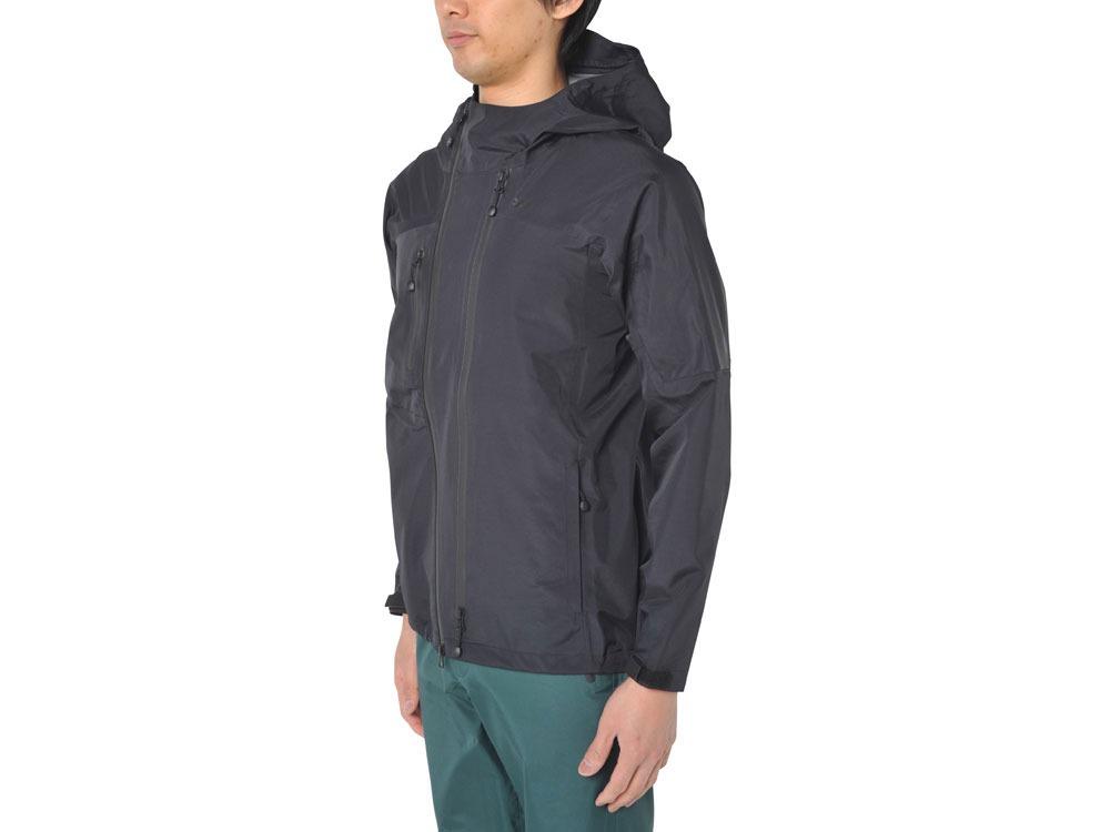 3L Rain Jacket XS Black1