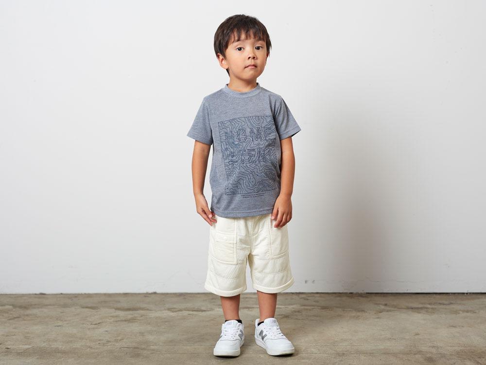 Kid'sQuickDryTshirt/Contour 4 Navy1