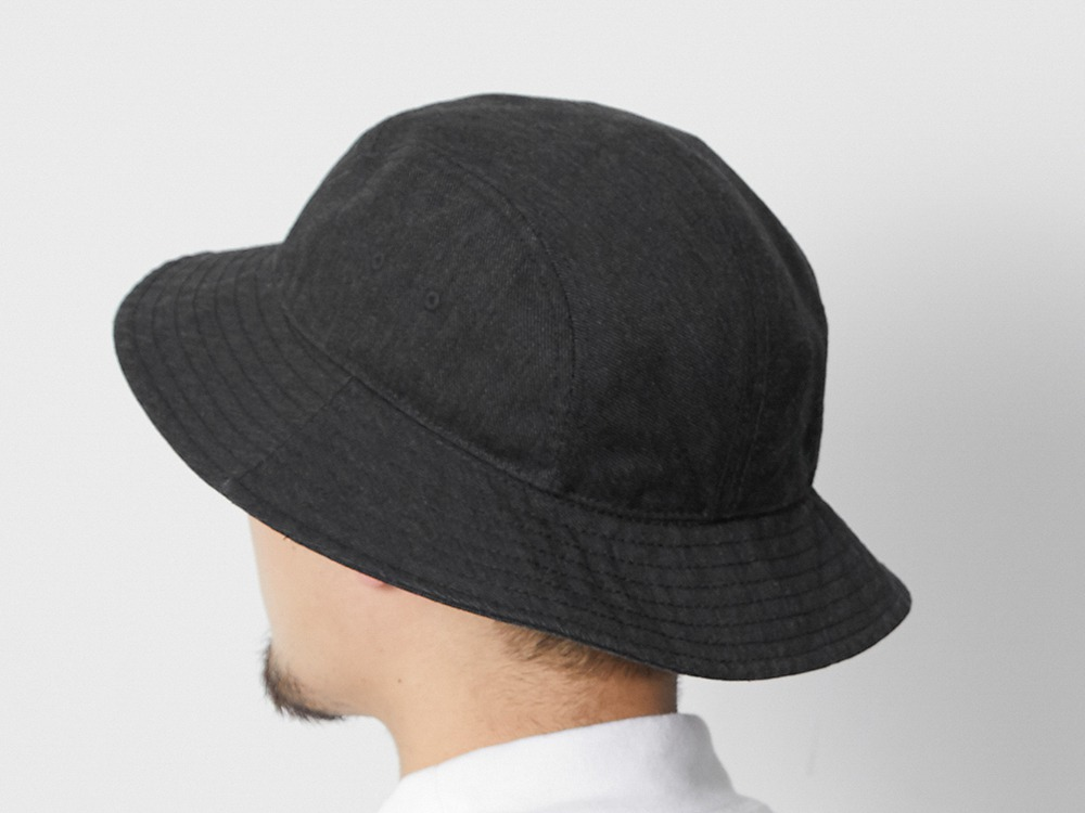 TAKIBI Denim Hat One Black