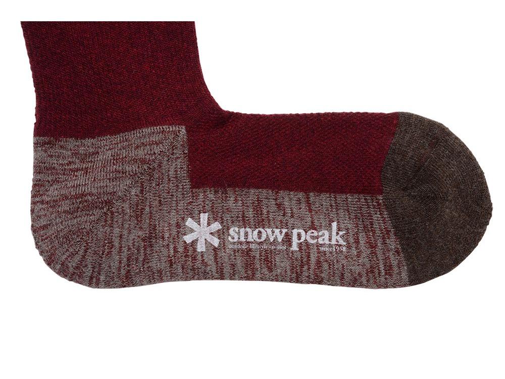 Wool Socks M Red1