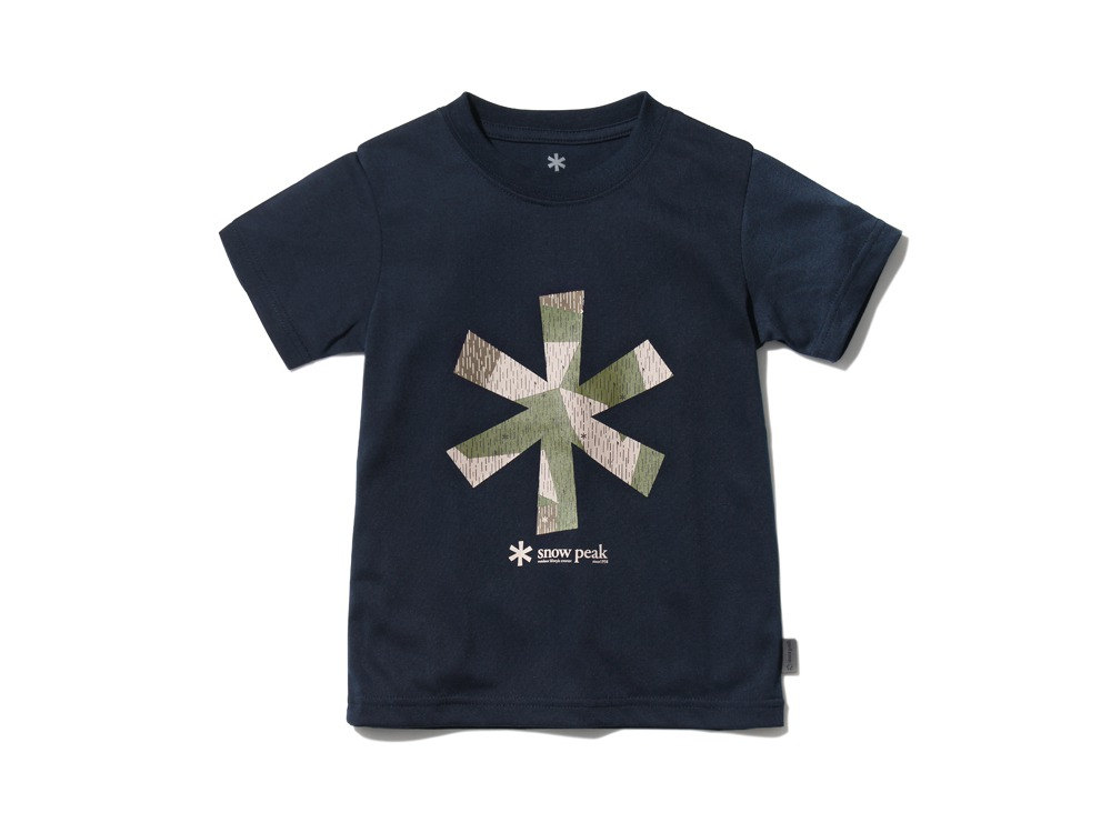 Kid'sQuickDryTshirt/RainCamo 4 Navy0