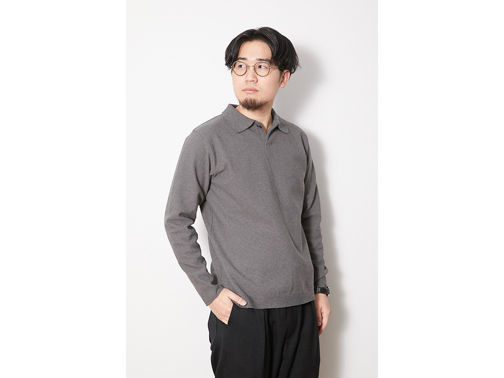Co/Pe Dry Polo Shirt 1 Grey
