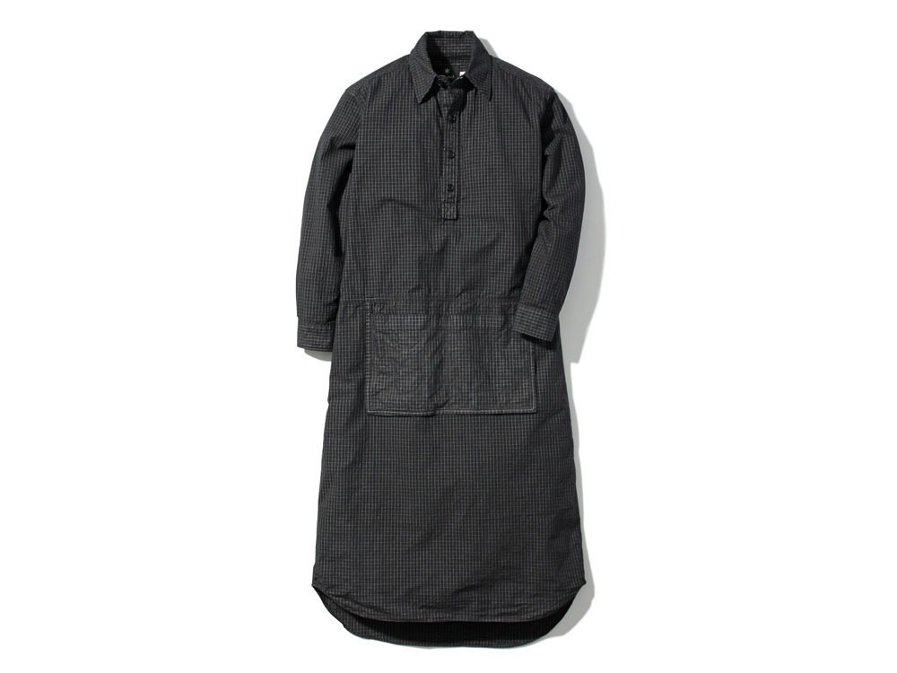 W's Organic Rip Stop Dress 3 Black0