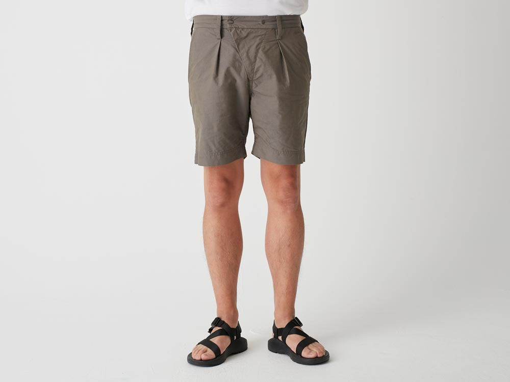 C/N Typewriter Shorts 1 Olive4