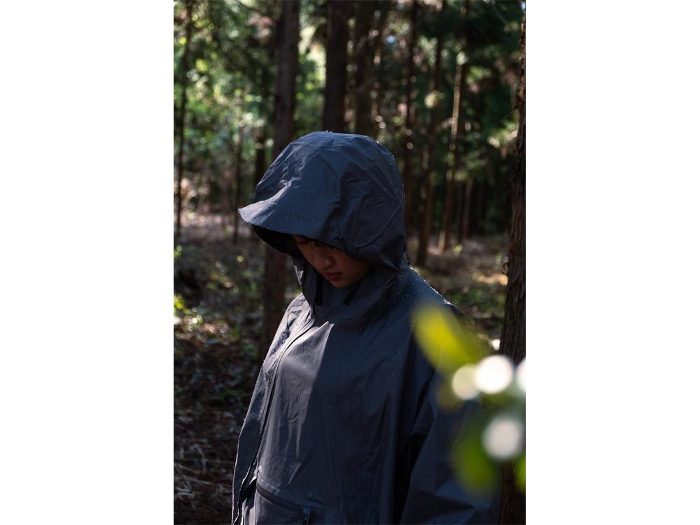 2.5L Rain Poncho 1 Greykhaki