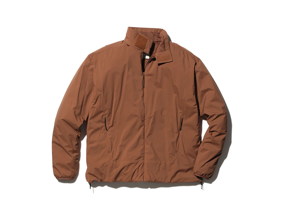2L Octa Jacket 1 Orange