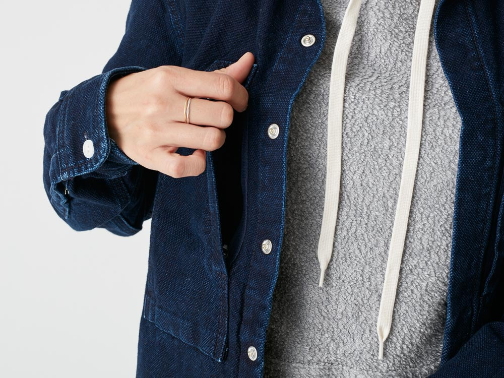 Okayama OX Shirts 1 Indigo6