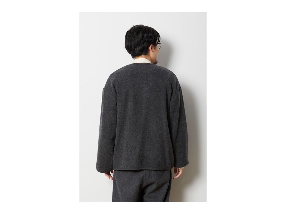 Wo/Ny Cardigan S Brown