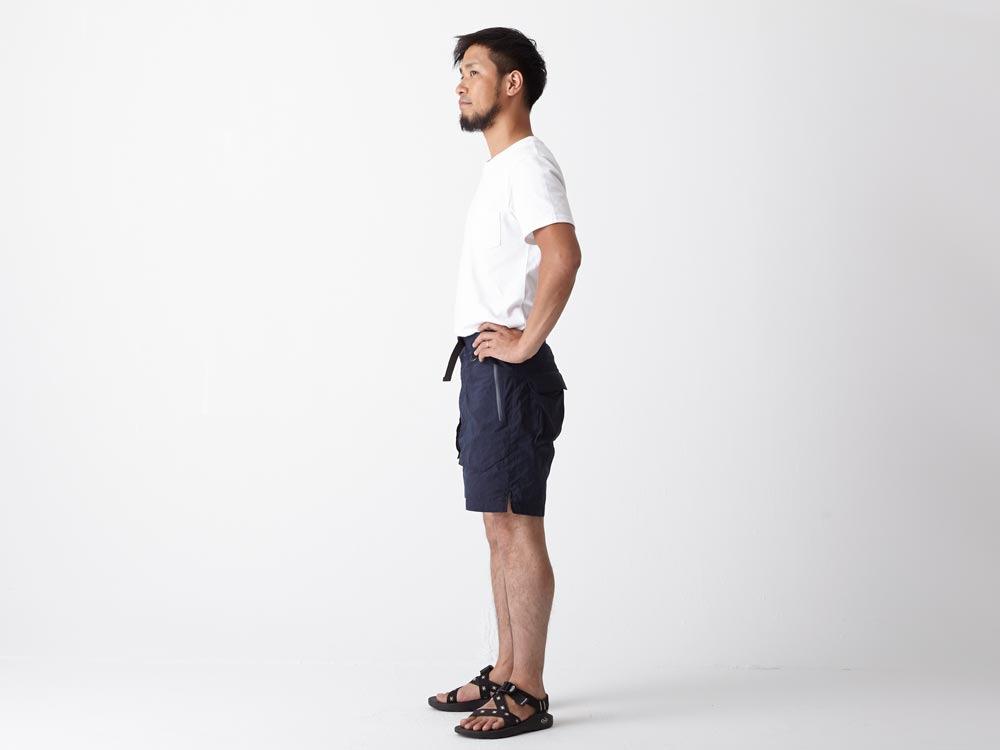 Indigo C/N  Anorak Shorts LIndigo2