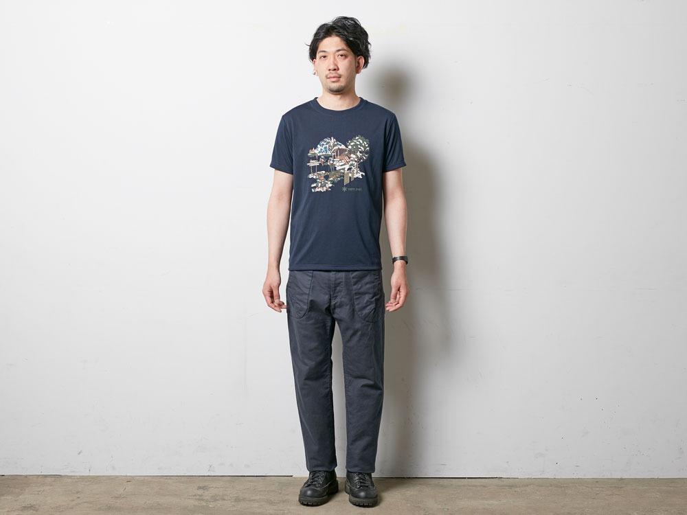 Campfield Tshirt XL Melange Grey1