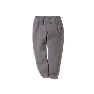 MM Thermal Boa Fleece Relax Pants L GY