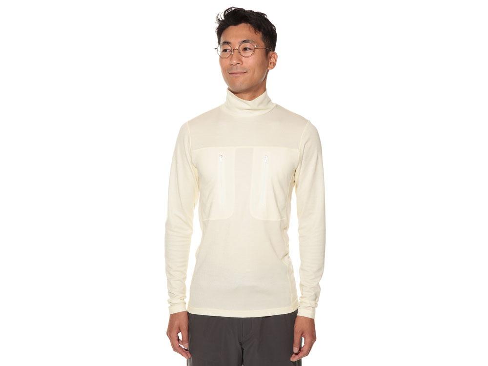 Wool Tactical High Neck S/XS Ecru2