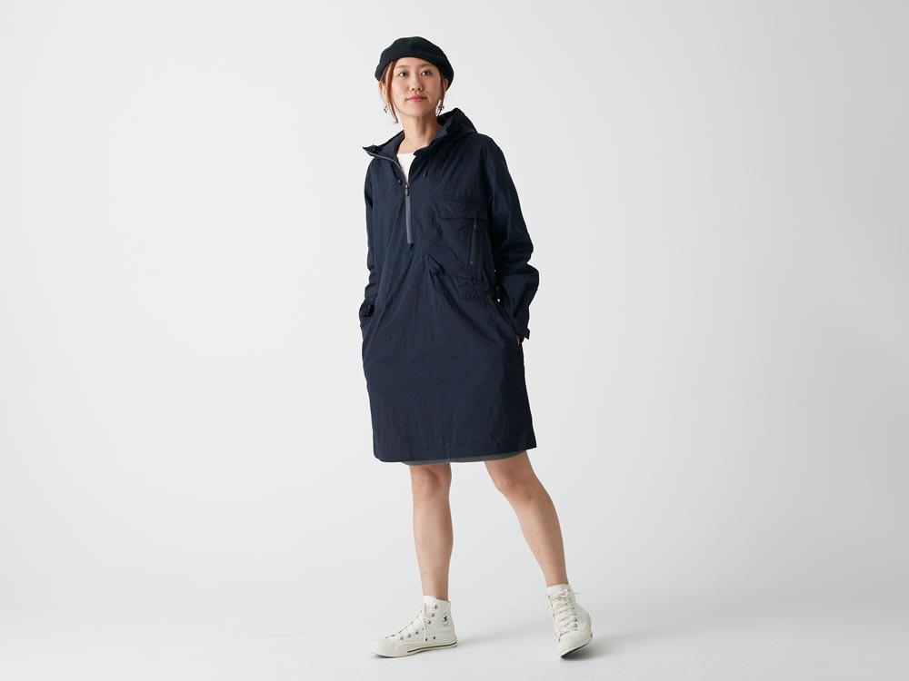 Indigo C/N Anorak Pullover S Indigo1