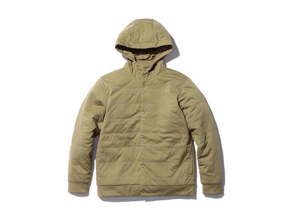 Flexible Insulated Parka M Beige