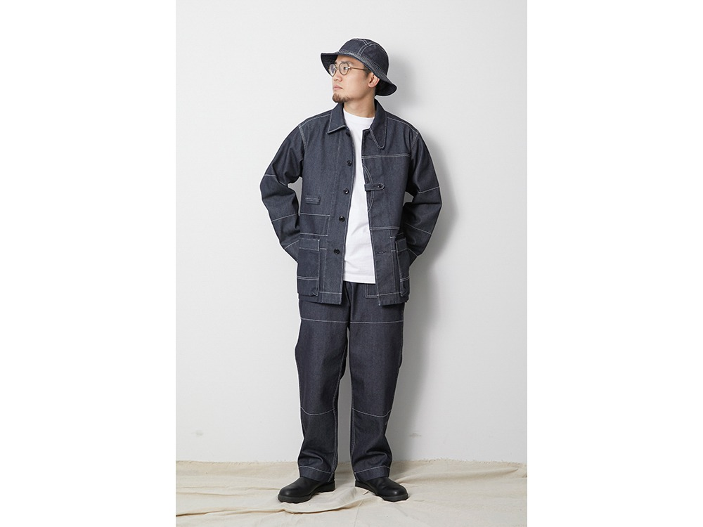 TAKIBI Denim Jacket M Black