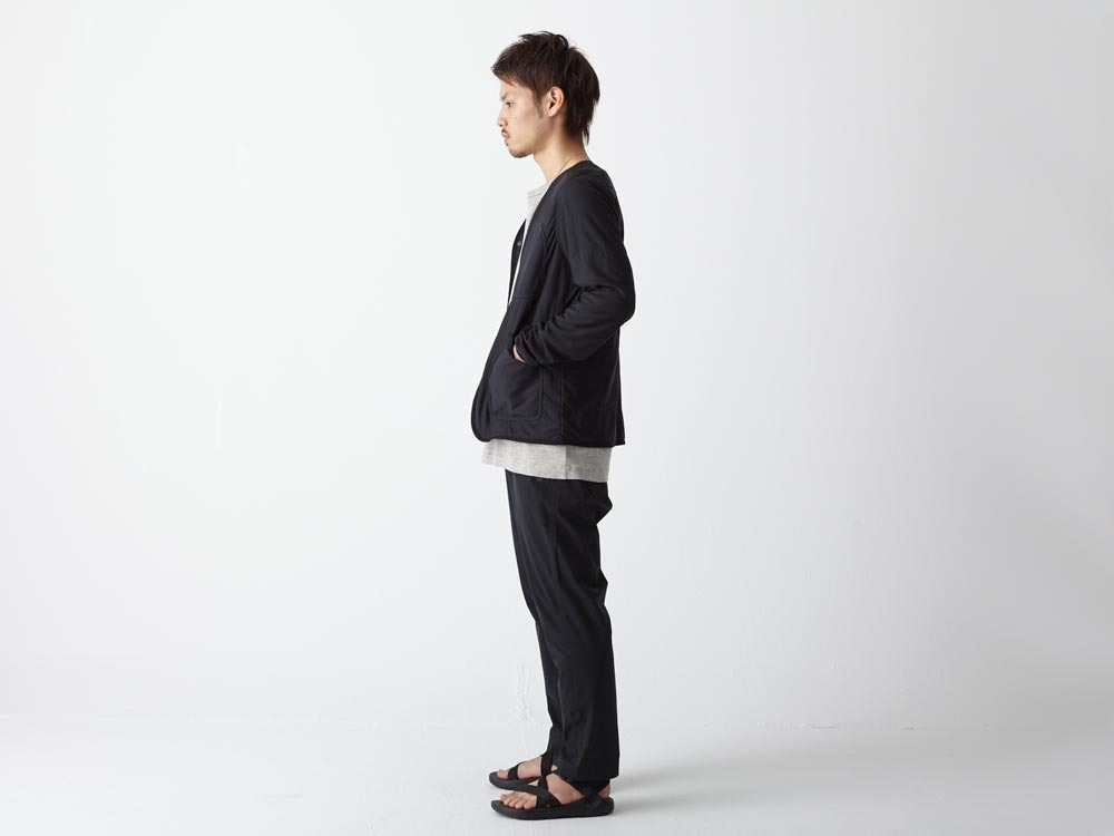 FlexibleInsulated Cardigan M Black2